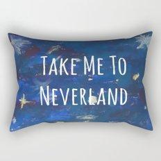 Take Me To Neverland | Galaxy Rectangular Pillow