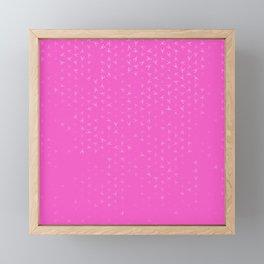 scorpio zodiac sign pattern mag Framed Mini Art Print