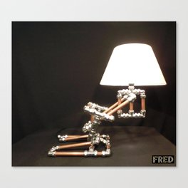 Articulated Desk Lamps - Copper and Chrome Collection - FredPereiraStudios_Page_20 Canvas Print