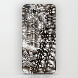 DALEK INVASION iPhone Skin