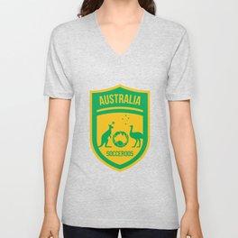 Australia Football Unisex V-Neck