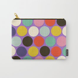 chelsea spot lavender Carry-All Pouch