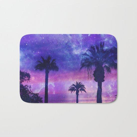 Palm Beach Galaxy Universe Watercolor Bath Mat