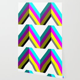 CMYK Vector Shape Wallpaper