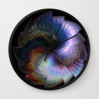 metal Wall Clocks featuring Metal by Brian Raggatt