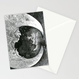 Goodnight Little Man Stationery Cards