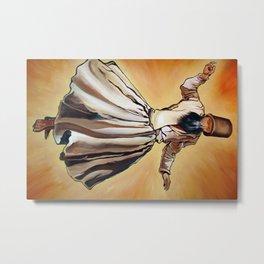 Semasen - Sufi Whirling Dervish Metal Print