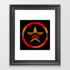 Mass Effect Renegade Framed Art Print