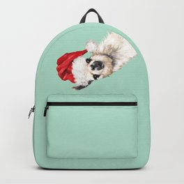 Christmas Sneaky Llama Backpack