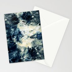 Drowning in Waves Texture Stationery Cards