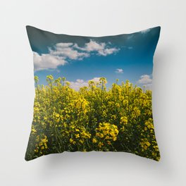 Summer Gold Throw Pillow