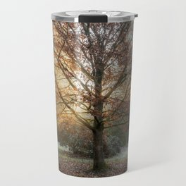 Autumn Sunburst Travel Mug