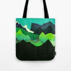 Landscape Slice Tote Bag