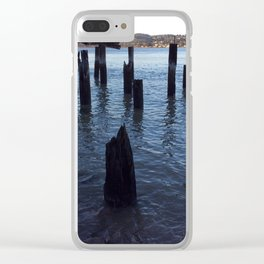 Carquinez straight Clear iPhone Case