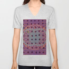 Dot - 3D graphic Unisex V-Neck