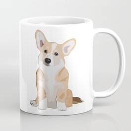 Corgi Waiting Coffee Mug