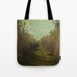 The path into the unknown Tote Bag