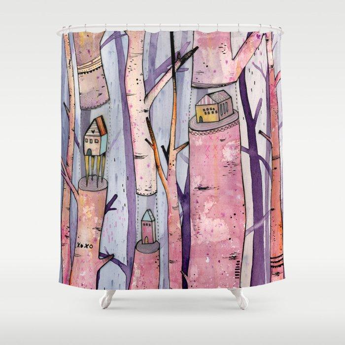 Safe House Shower Curtain