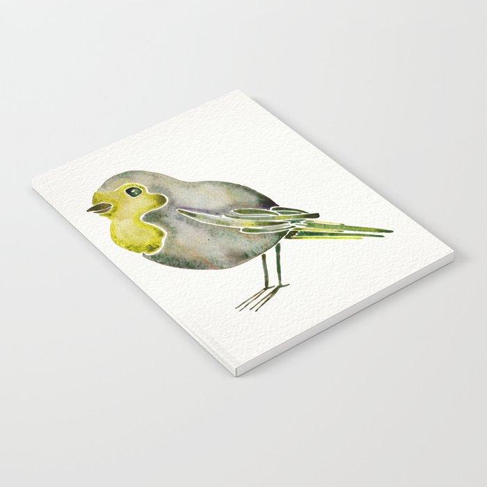 Little Yellow Bird >> Little Yellow Birds Notebook By Catcoq Society6