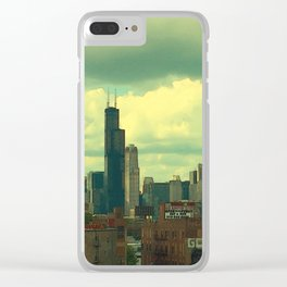 Cloudy Day Thursday  Clear iPhone Case