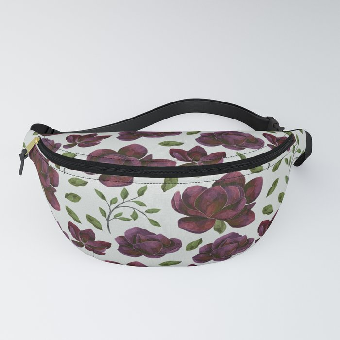 Forest Meadow Rose Fanny Pack