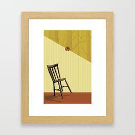 Accident Waiting to Happen Framed Art Print