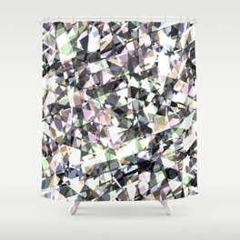 Lazer Diamond 2 Shower Curtain