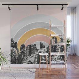 Desert rainbow Wall Mural