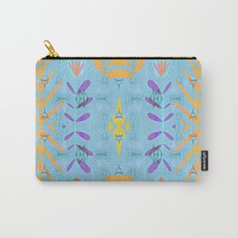 Scandinavian Magic Hygge Floral Print Carry-All Pouch