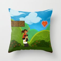 Co-Op Gaming Throw Pillow