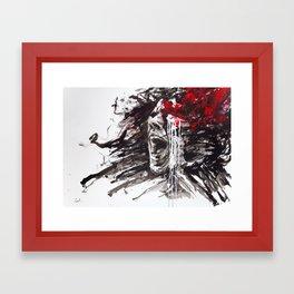 The Pain of Cluster Headache Framed Art Print