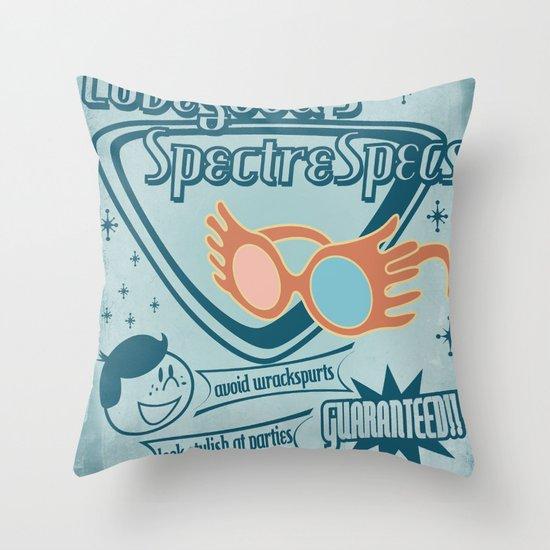 SpectreSpecs Throw Pillow