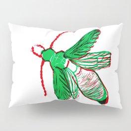 Emerald Beetle Pillow Sham