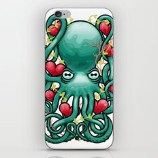 Octupus and Hearts iPhone & iPod Skin