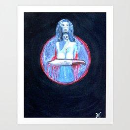 Forgive Thyself Art Print