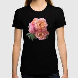 Pink Rose Bouquet in a terracotta vase T-shirt