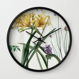 Softly IV Wall Clock