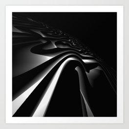 Path: digital art Art Print