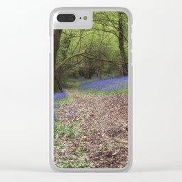 Beech Wood Bells Clear iPhone Case