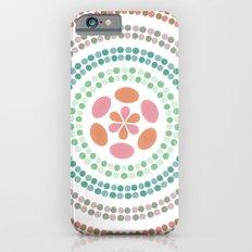 Retro floral circle 2 iPhone 6s Slim Case
