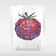 Tomato (Tomate) Shower Curtain