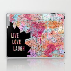 Live.Love.Laugh Laptop & iPad Skin