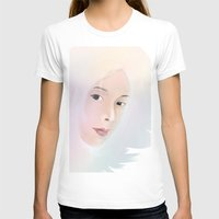women T-shirts featuring women by wit_art