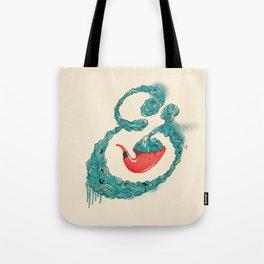 Smoke Ampersand Tote Bag