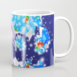 'You Cracked the Egg' Series - Easter Angelic Bunny with Premium Background Coffee Mug
