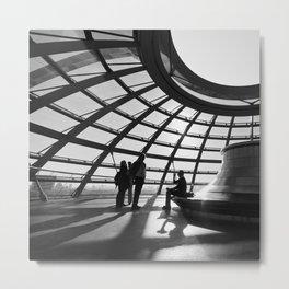 Bundestag [I] Metal Print