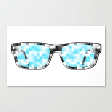Pixeleted Canvas Print