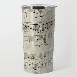 I Love Piano Music Travel Mug