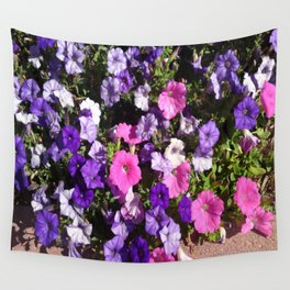 Petunia Patch Wall Tapestry