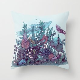 SUNK Throw Pillow